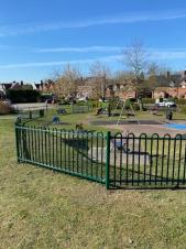 New Fencing Station Road Play Area